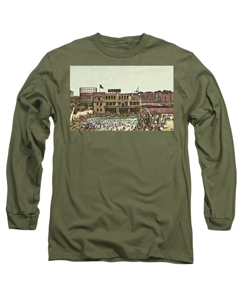 Long Sleeve T-Shirt featuring the photograph Miramar Saltwater Pool  by Cole Thompson