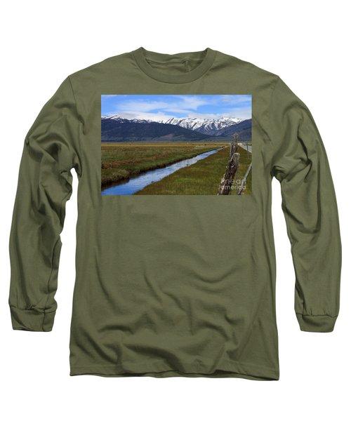 Mono County Nevada Long Sleeve T-Shirt