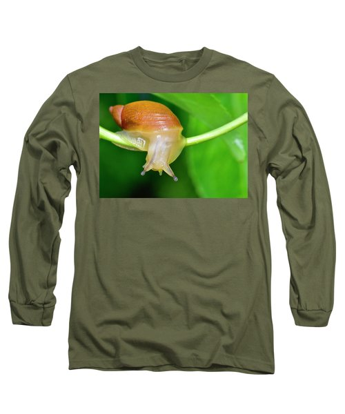 Morning Snail Long Sleeve T-Shirt