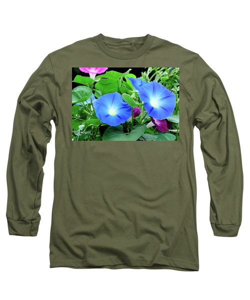 My Morning Glory Long Sleeve T-Shirt