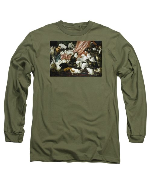 My Wife's Lovers Long Sleeve T-Shirt by Carl Kahler