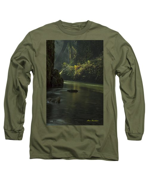 Mystical Canyon Signed Long Sleeve T-Shirt
