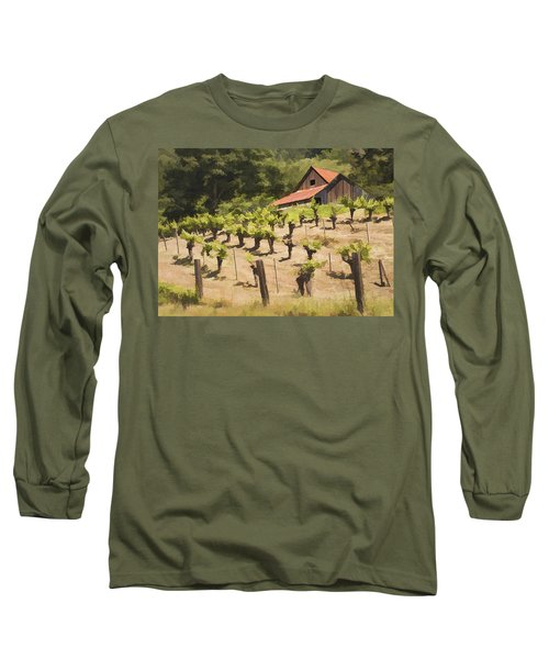 Napa Barn Long Sleeve T-Shirt