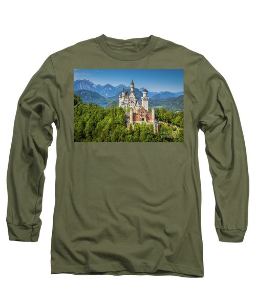 Neuschwanstein Castle Long Sleeve T-Shirt