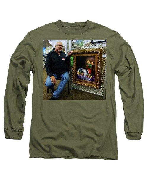 Nostalgic Vision  Long Sleeve T-Shirt by Gene Gregory