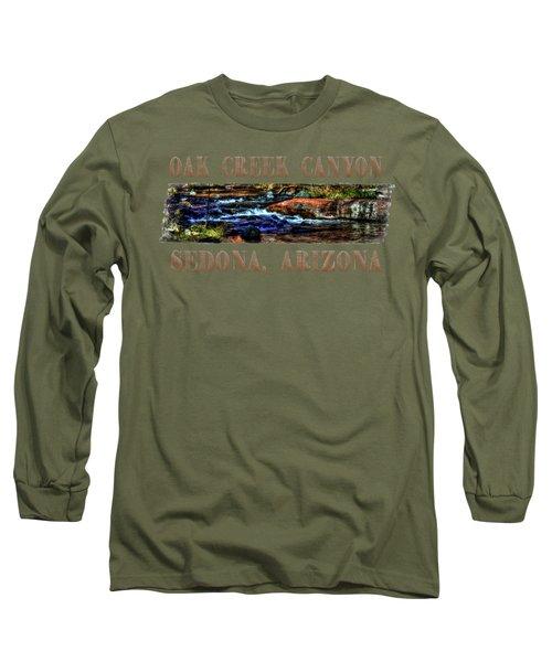 Oak Creek Canyon Cascade Long Sleeve T-Shirt