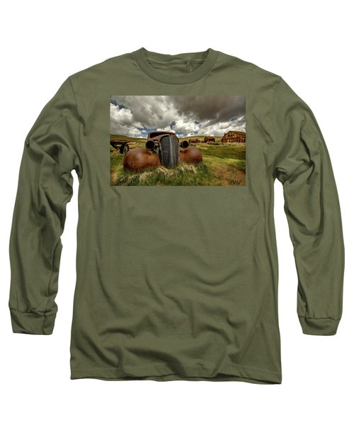 Old Jalopy Bodie State Park Long Sleeve T-Shirt