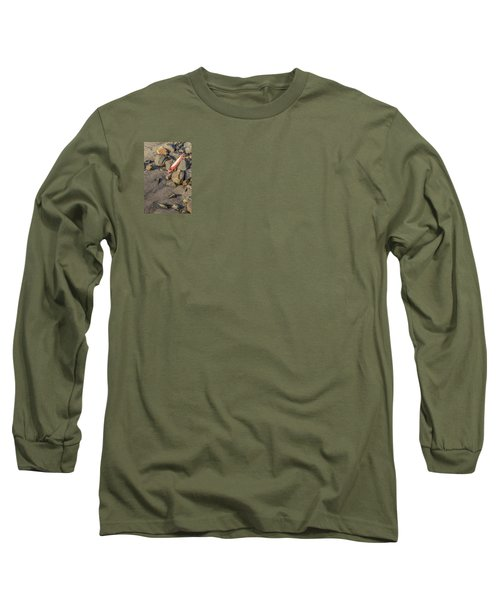 Long Sleeve T-Shirt featuring the photograph On The Rocks by Peter Tellone