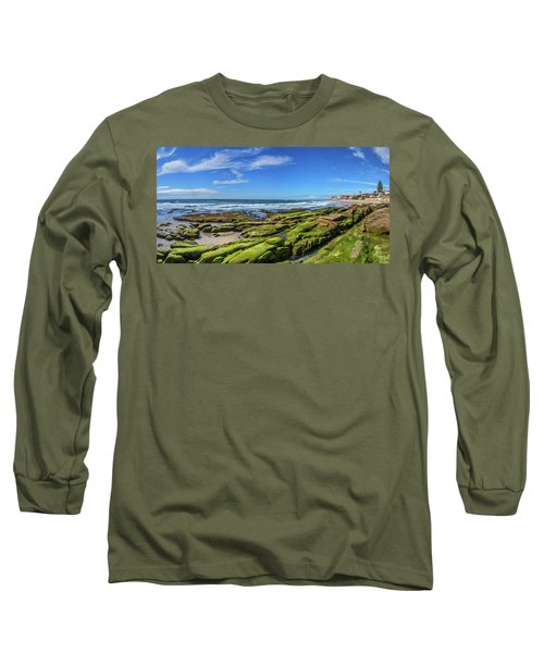 Long Sleeve T-Shirt featuring the photograph On The Rocky Coast by Peter Tellone