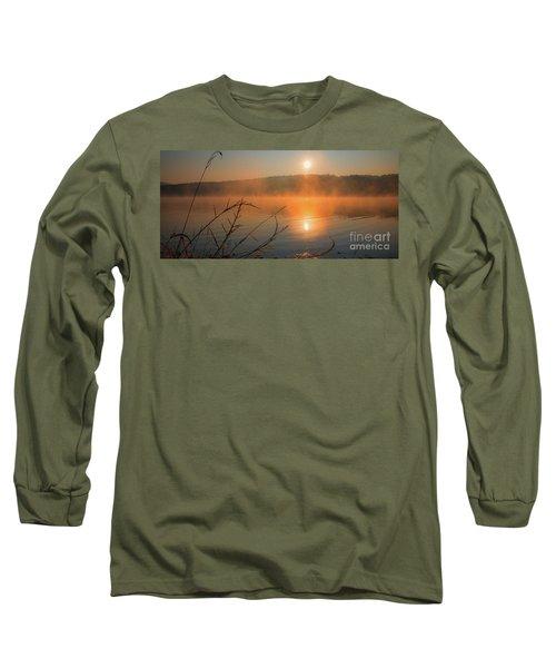 One Autumn Day At Ognyanovo Dam Long Sleeve T-Shirt