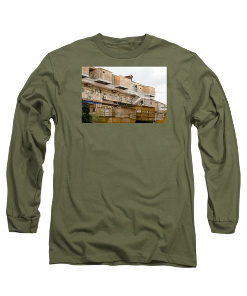 Orthodox Sukkahs In Jerusalem Long Sleeve T-Shirt