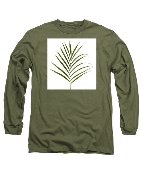 Palm Leaf Long Sleeve T-Shirt