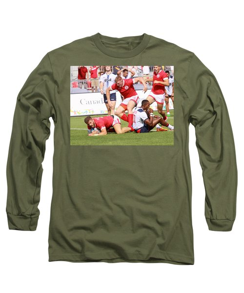 Pamam Games Mens' 7's Long Sleeve T-Shirt