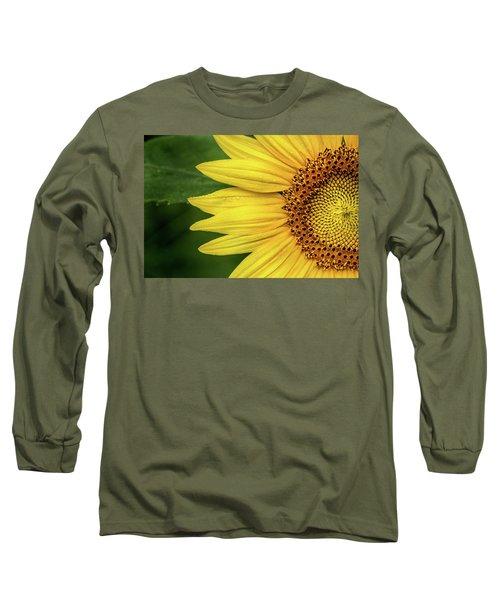 Partial Sunflower Long Sleeve T-Shirt