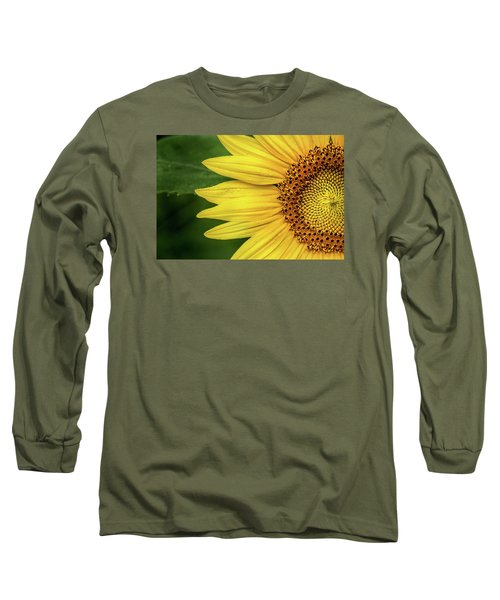 Partial Sunflower Long Sleeve T-Shirt