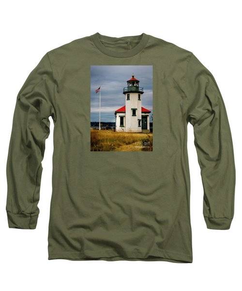 Point Robinson  Lighthouse,vashon Island.wa Long Sleeve T-Shirt