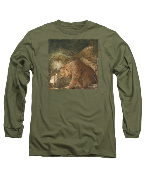 Poor Little Bear Long Sleeve T-Shirt