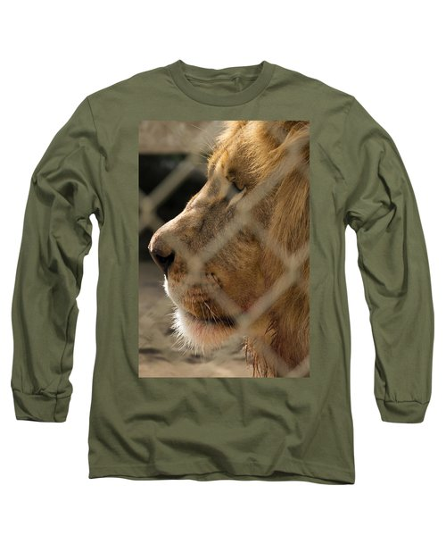 Profile Of A King Long Sleeve T-Shirt