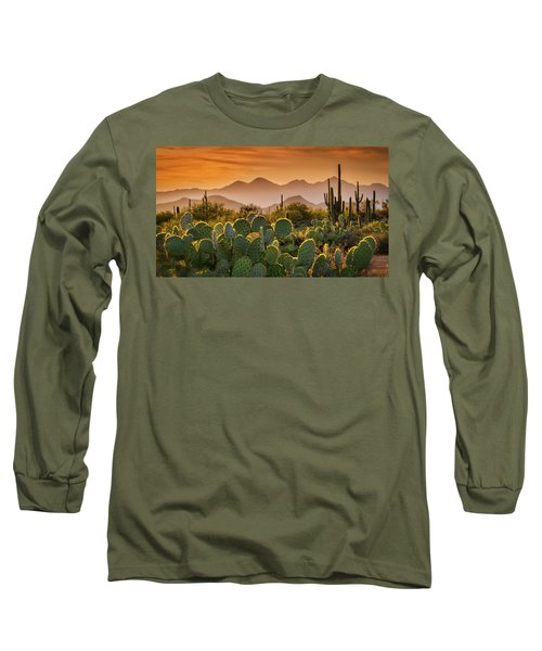 Pure Sonoran Gold  Long Sleeve T-Shirt