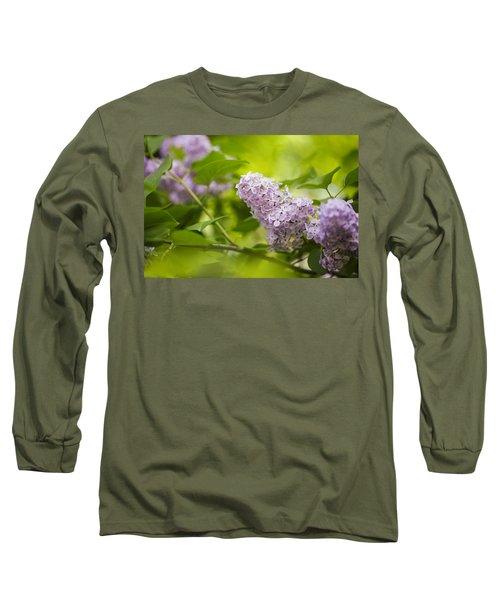 Purple Lilac Long Sleeve T-Shirt