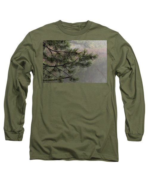 Rain Drops Long Sleeve T-Shirt by Inge Riis McDonald