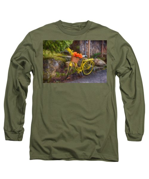 Ready To Go Long Sleeve T-Shirt by Tricia Marchlik