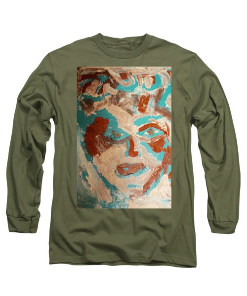 Red White And Blue Long Sleeve T-Shirt by Shea Holliman