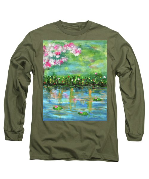 Reflections Of Spring Long Sleeve T-Shirt