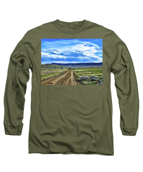 Room To Roam - Wyoming Long Sleeve T-Shirt by L O C