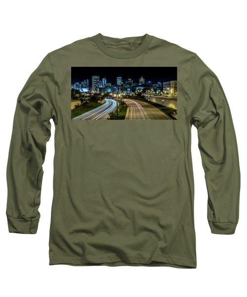 Round The Bend Long Sleeve T-Shirt by Randy Scherkenbach