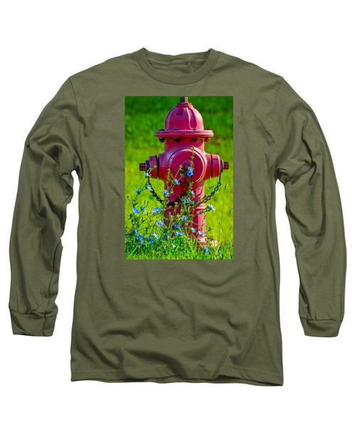 Rustic Red 2 Long Sleeve T-Shirt by Brian Stevens