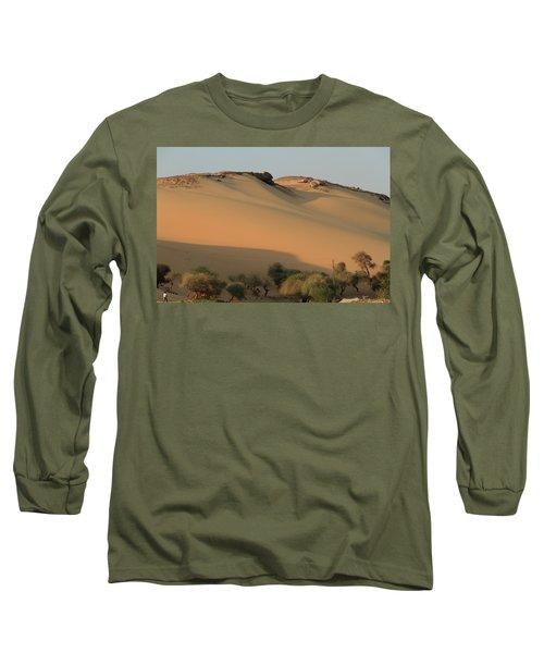 Sahara Long Sleeve T-Shirt by Silvia Bruno