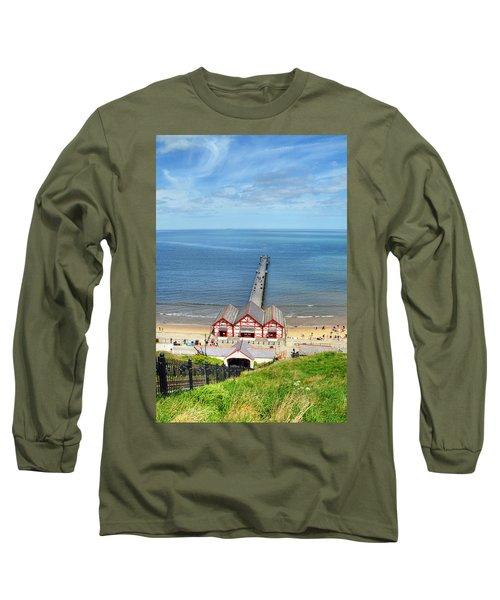 Saltburn Pier Long Sleeve T-Shirt