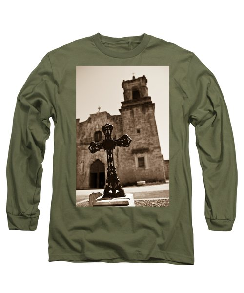 San Antonio Long Sleeve T-Shirt by Sebastian Musial