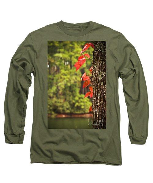 Scenic Elder Lake Long Sleeve T-Shirt