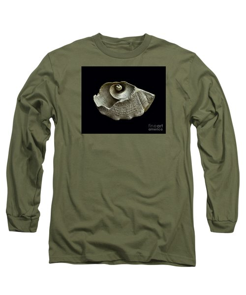 Sea Debris B Long Sleeve T-Shirt by Walt Foegelle