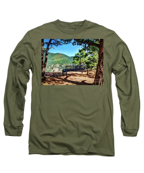 Long Sleeve T-Shirt featuring the photograph Secret Place by Deborah Klubertanz