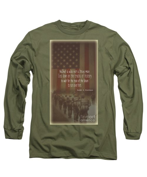 Long Sleeve T-Shirt featuring the photograph Serving Our Country by Debby Pueschel