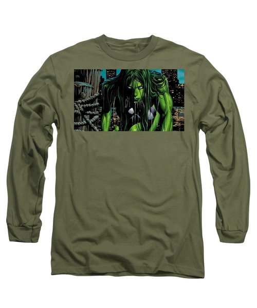 She-hulk Long Sleeve T-Shirt