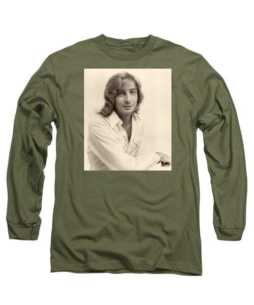 Singer Barry Manilow 1975 Long Sleeve T-Shirt