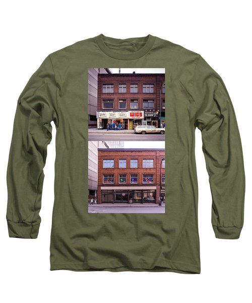 Something's Going On At The Greeting Card Center. Long Sleeve T-Shirt