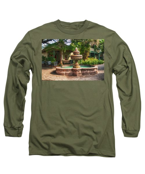 Spanish Fountain Long Sleeve T-Shirt