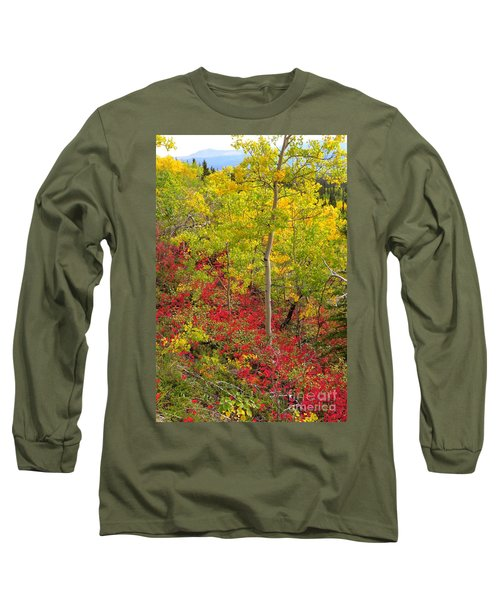 Splash Of Autumn Long Sleeve T-Shirt