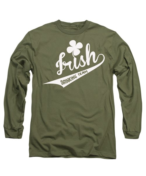 St. Patrick's Day Long Sleeve T-Shirt by ES Design