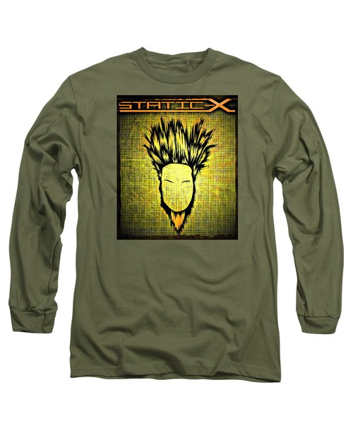 Static-x Long Sleeve T-Shirt by Kyle West