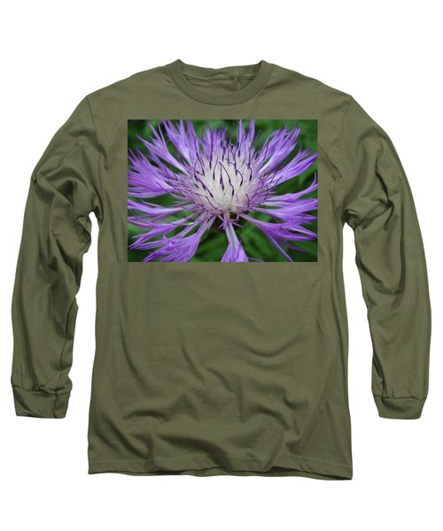 Summer Blooms Long Sleeve T-Shirt by Rebecca Overton