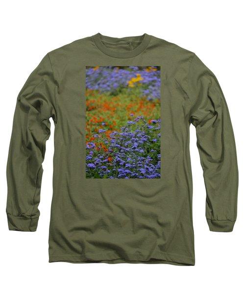 Summer's Garden Long Sleeve T-Shirt by Tim Good