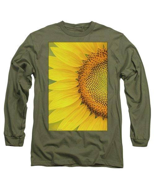 Sunflower Petals Long Sleeve T-Shirt