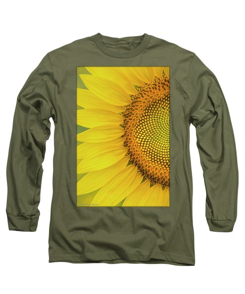 Sunflower Petals Long Sleeve T-Shirt