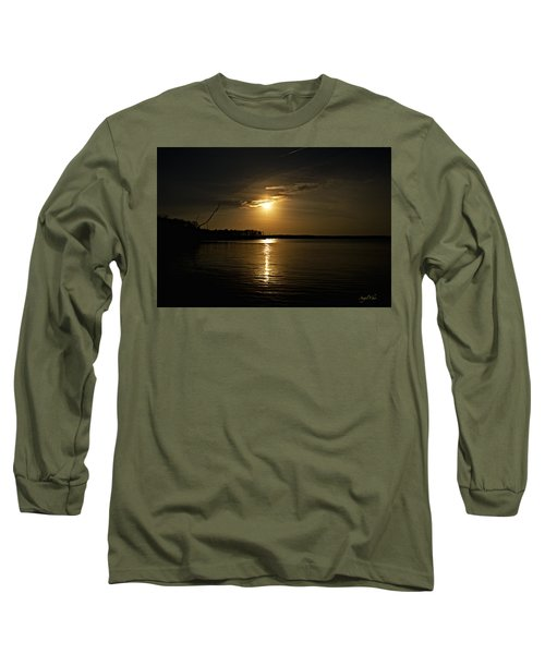 Long Sleeve T-Shirt featuring the photograph Sunset by Angel Cher